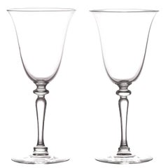 12 Elegant Art Deco Steuben Water Goblets