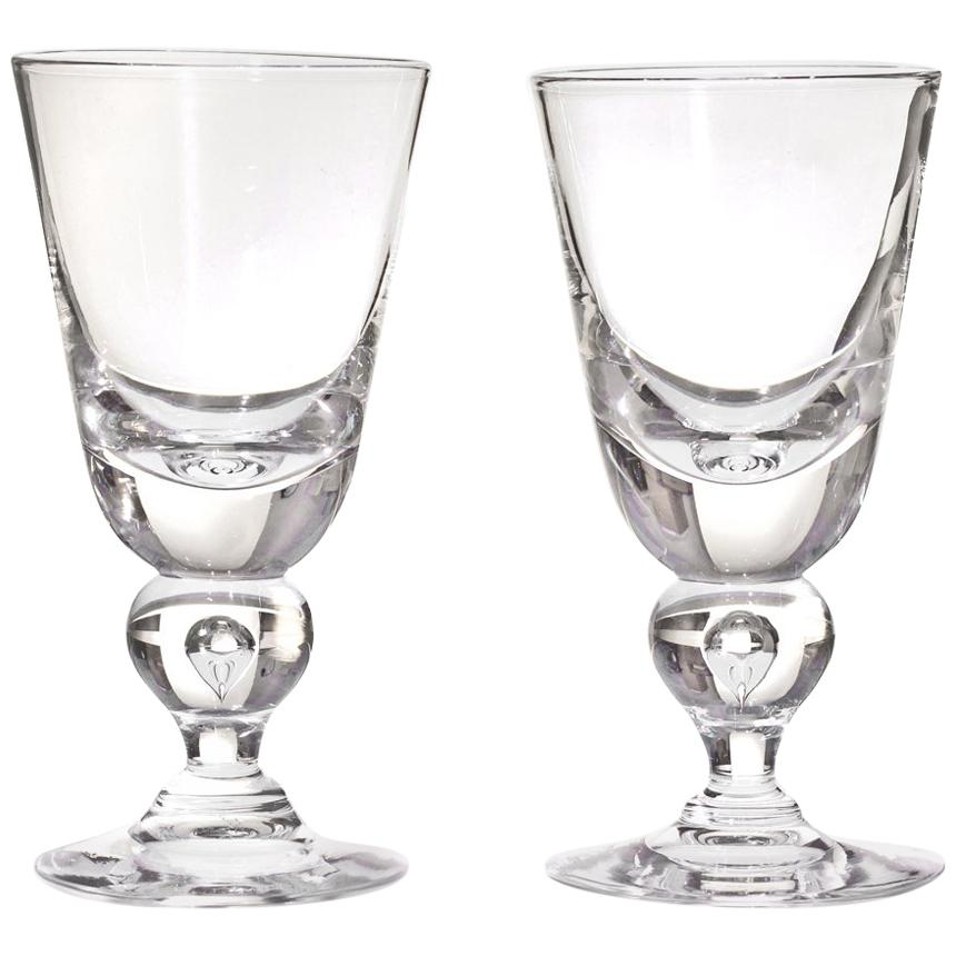 12 Exceptional Steuben Baluster Water Goblets