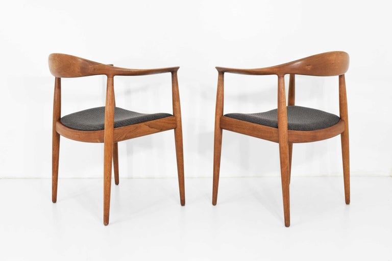 12 Hans Wegner Round Chairs For Sale 6