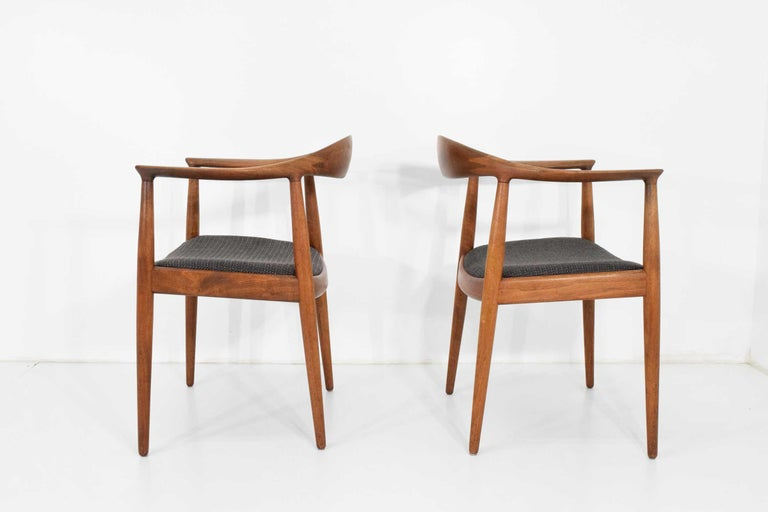 12 Hans Wegner Round Chairs For Sale 8