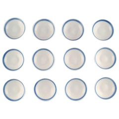 12 Pieces, Royal Copenhagen Blue Fan, Butter Pads