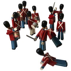 12 Vintage Royal Guardsmen by Kay Bojesen from 1950s