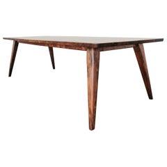 "120"" Columbia Dining Table in Oregon Walnut by Studio Moe"