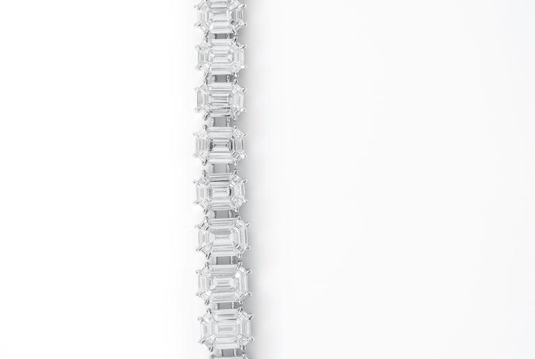 12.20 Carat Diamond Emerald Pie-Cut