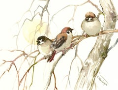 Sun and Sparrows