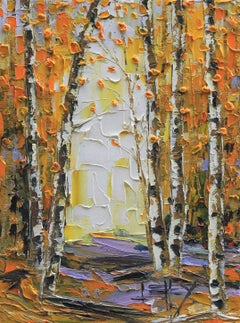 Fall in to Autumn, Oil Painting
