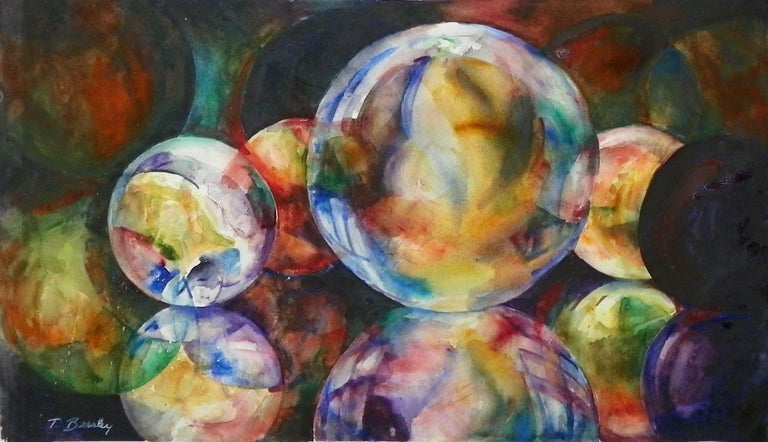 Playing for Keeps, Painting, Watercolor on Paper - Art by Terrece Beesley