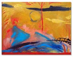Landscape #17 (Dutch), Painting, Oil on Canvas