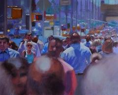 Street 5, Painting, Oil on Canvas