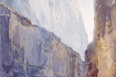 Santa Elena Greys, Painting, Oil on MDF Panel