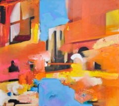 220 Approaching Murano, Painting, Oil on Canvas