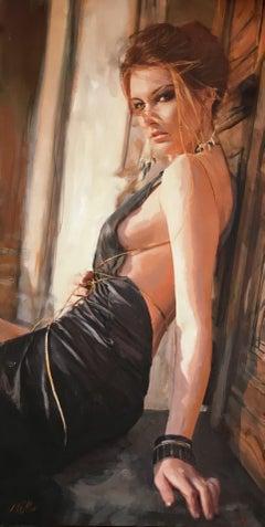 Falling Light, Painting, Acrylic on Canvas