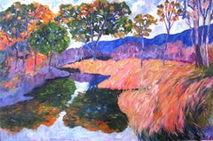 Chemainus River, Painting, Oil on Canvas