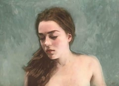 Three Portraits - II, Painting, Acrylic on Canvas