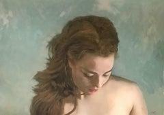'Three Portraits - I, Painting, Acrylic on Canvas
