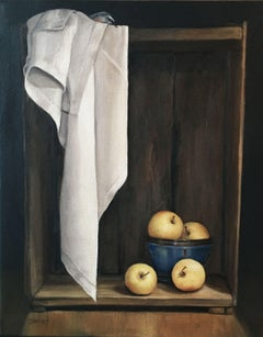 Golden Apples, Painting, Oil on Canvas