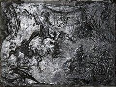Liquid Gold, Painting, Acrylic on Canvas