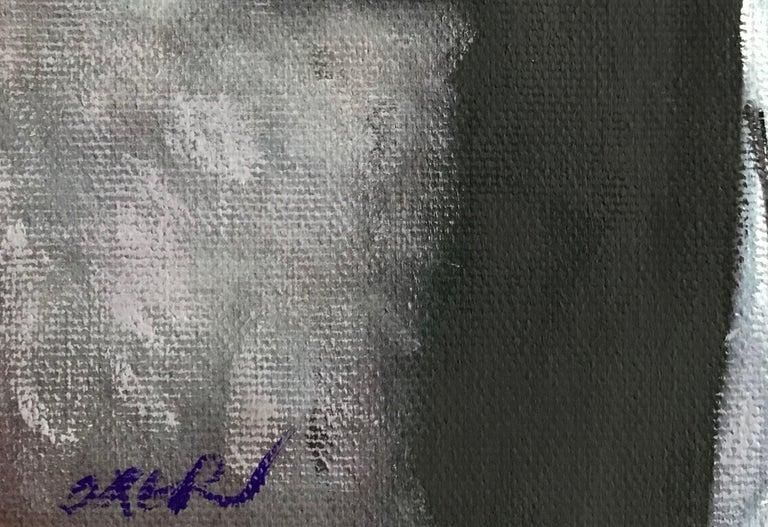 Divine Beauty, Painting, Gouache on Canvas For Sale 4