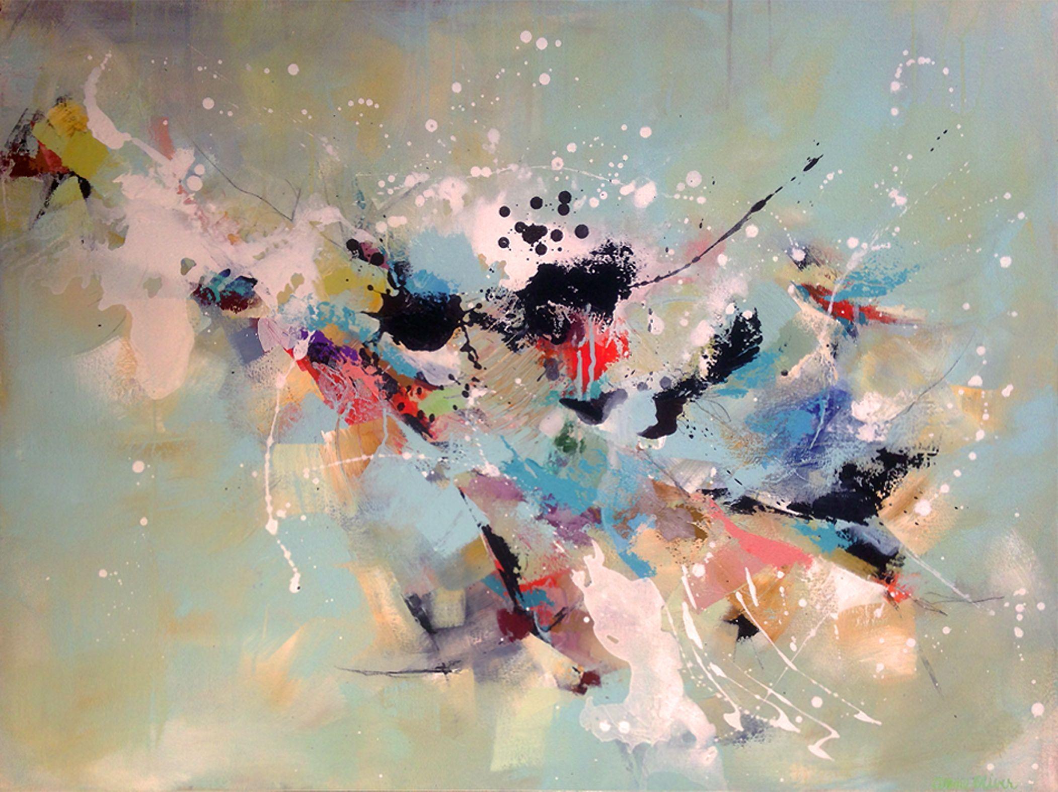 il Viaggio, Painting, Acrylic on Canvas