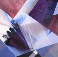 Split Infinity, Painting, Oil on Canvas