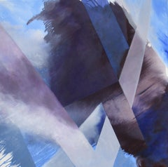 Purple Haze, Painting, Oil on Canvas