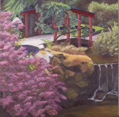 Falling Water, Painting, Oil on Canvas