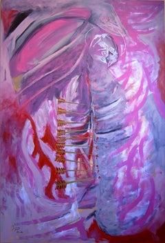 Martyrdom of Saint Sebastian #1, Painting, Acrylic on Canvas