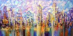 SAN DIEGO VISTA, Painting, Acrylic on Canvas