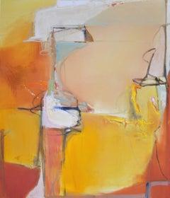 321 Sunset in Ravello, Painting, Oil on Canvas