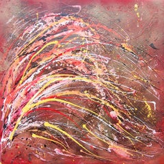 Neptune's Coral, Painting, Acrylic on Canvas