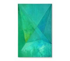 'Straight Folded', Painting, Acrylic on Canvas