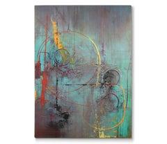 'Radioactive', Painting, Acrylic on Canvas