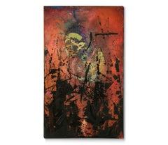 'Midnight Terror', Painting, Acrylic on Canvas