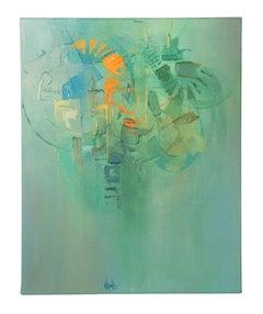 'Back Tracks', Painting, Acrylic on Canvas