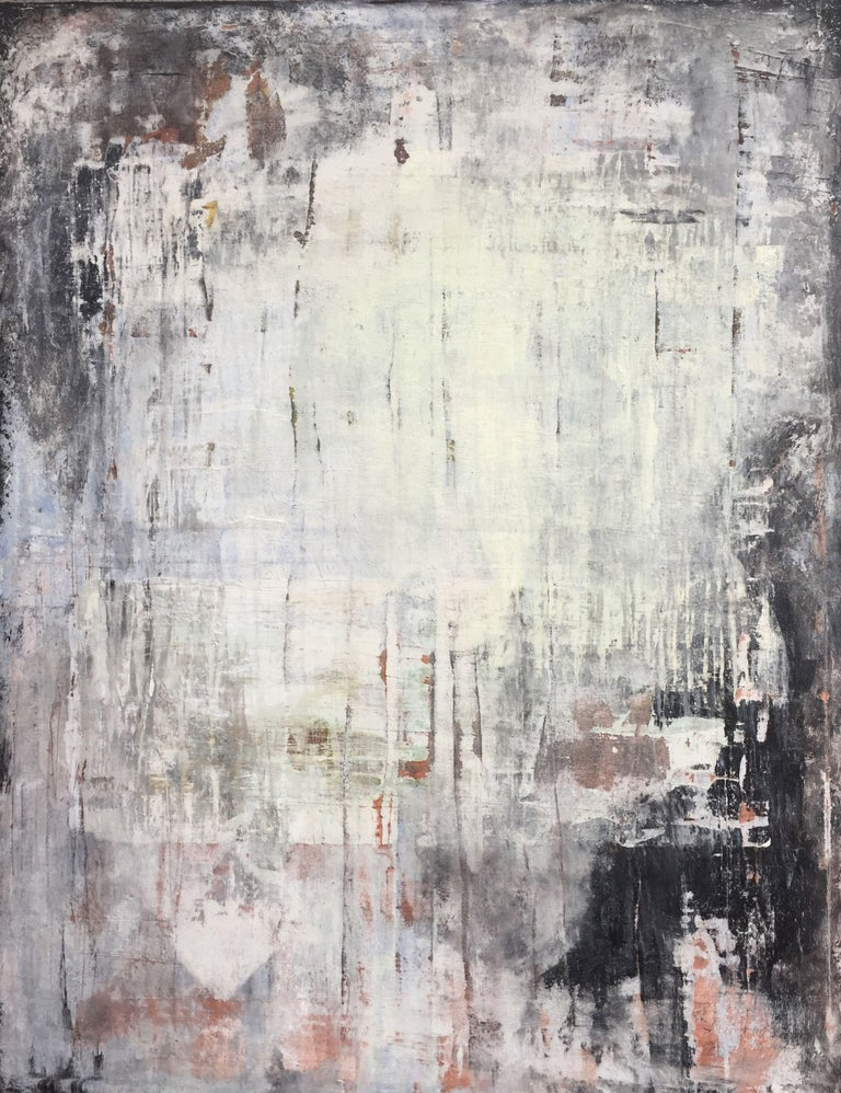 """Roger König Abstract Painting - """"1126 antique exclusive wall"""", Painting, Acrylic on Canvas"""