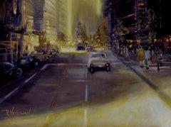 Georgia Street, Painting, Oil on Canvas
