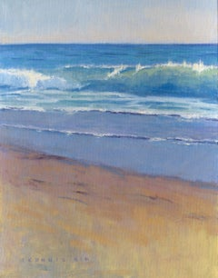 Gentle Wave, Painting, Oil on Canvas
