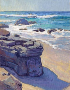 Shadow at Crystal Cove, Painting, Oil on Canvas