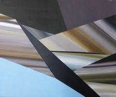 Flat depth, Painting, Acrylic on Canvas