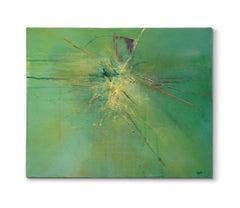 'Stricken', Painting, Acrylic on Canvas
