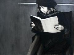 Untitled - XXI century, Black and white figurative