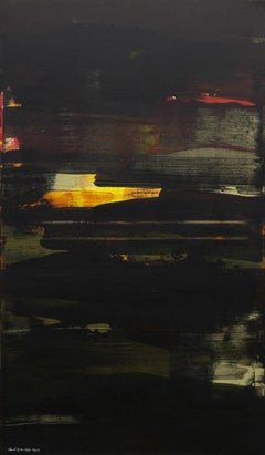 Untitled - XXI century, Young artist, Oil painting, Abstraction