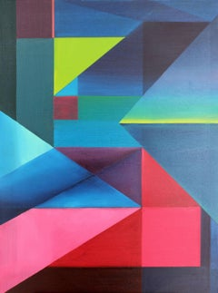 Composition 8 - XXI Century, Oil painting, Contemporary Abstract