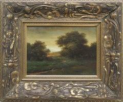 Landscape - XXI century, Classic landscape, Oil painting, Forest