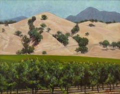 Wine Country, Painting, Oil on Canvas
