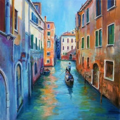 The Colors of Venice, Painting, Oil on Canvas
