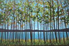 Lake Series II, Painting, Acrylic on Canvas