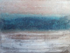 """""""1250 abstract seascape"""", Painting, Acrylic on Canvas"""