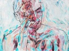 Unfazed, Painting, Acrylic on Canvas