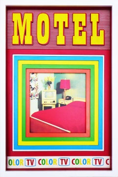 Motel, Hand Printed Work, Screen